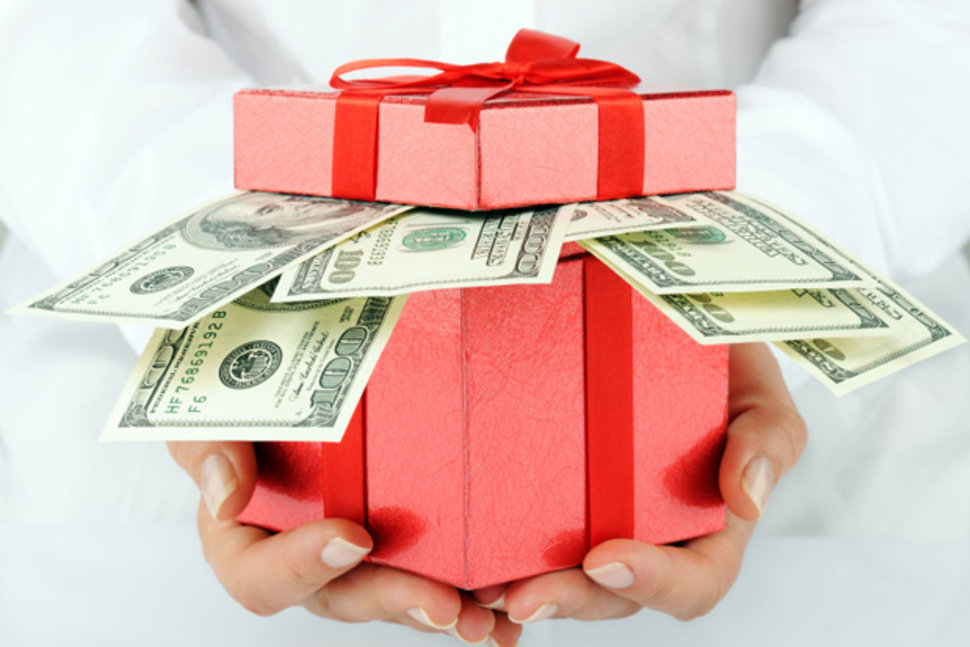 financial gifts to give